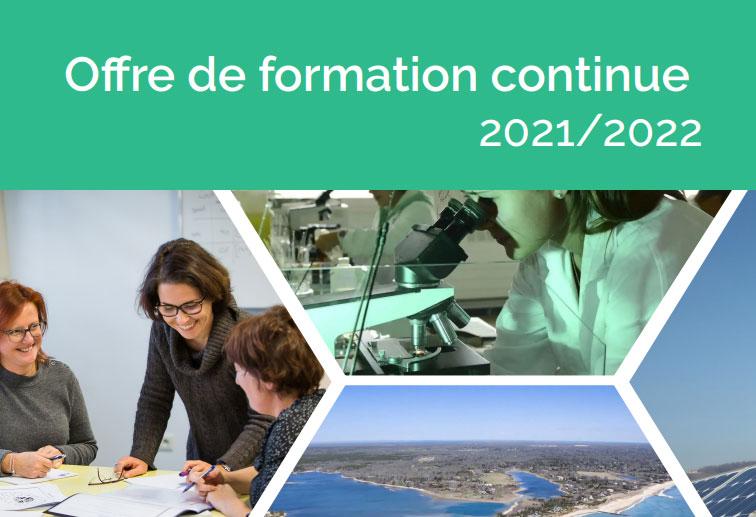 Catalogue Formation continue La ...