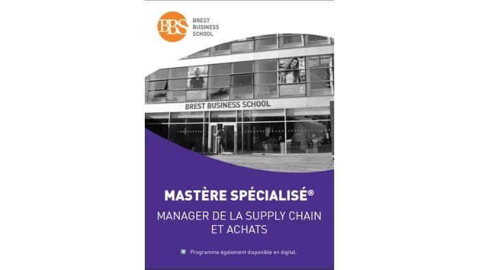 Brochure Mastère Manager de la s...