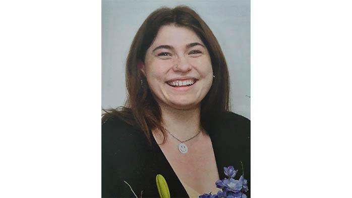Natalie Hardstaff på Floristprogrammet