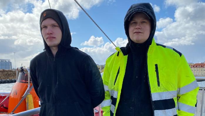 Adam och Timmy om Sjöfart