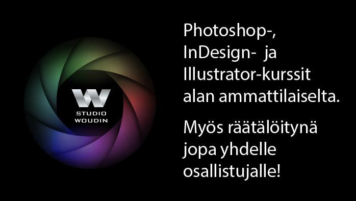 Studio Woudin | Ota Adobe-ohjelmat haltuun!