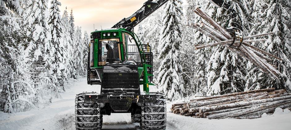 skogsmaskinförare - Vuxenutbildning