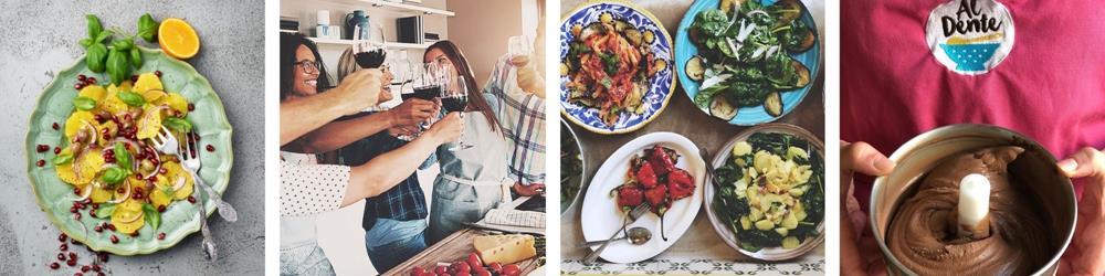 Corona-anpassad matlagningskurs laga mat italiensk festmat aktivitet stockholm