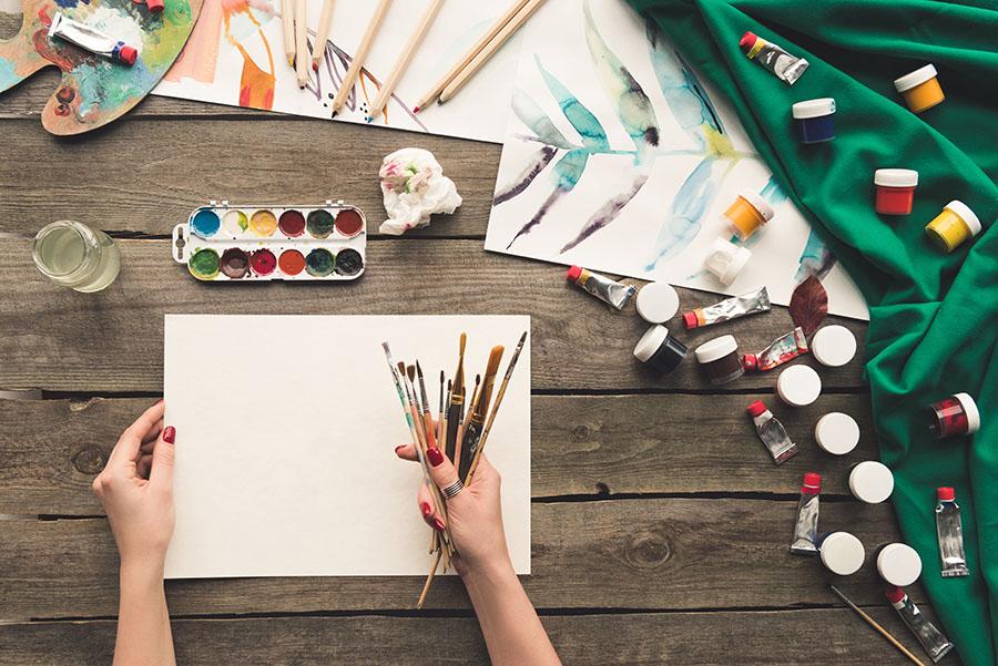 bli kunstner studere kunst