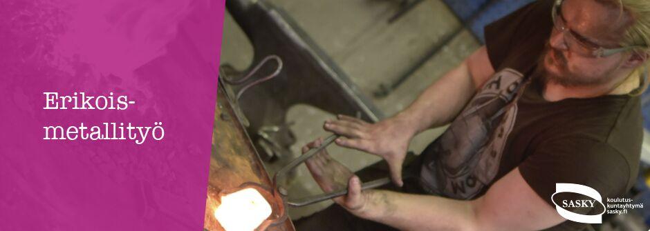 Erikoismetalli | artesaani | taideteollisuusalan perustutkinto | IKATA