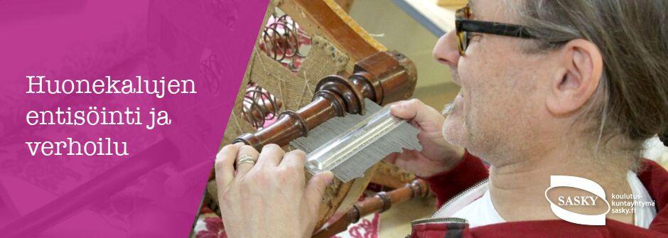 Huonekalujen entisöinti ja verhoilu | artesaani | taideteollisuusalan perustutkinto | IKATA