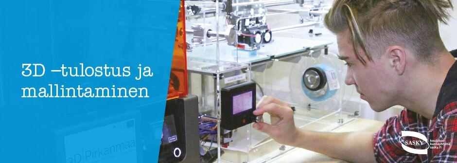 3D-tulostus ja mallintaminen | artesaani | taideteollisuusalan perustutkinto | IKATA