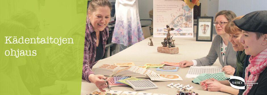 Kädentaitojen ohjaus | artesaani | taideteollisuusalan perustutkinto | IKATA