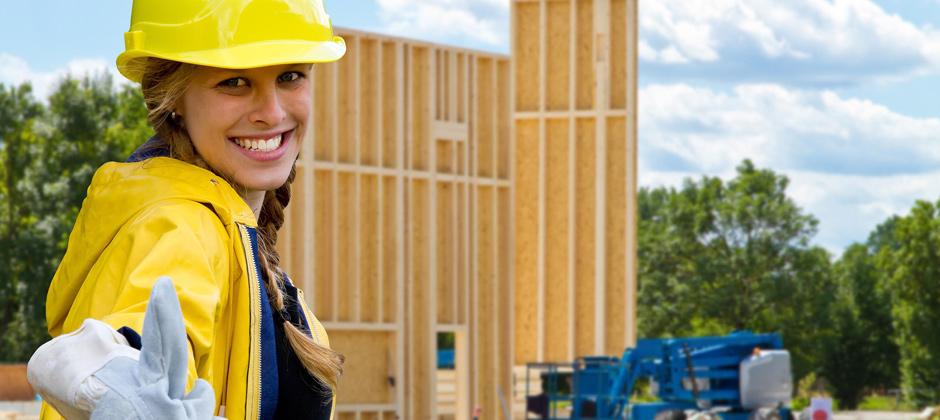 Träbyggnadsprojektör hållbart byggande