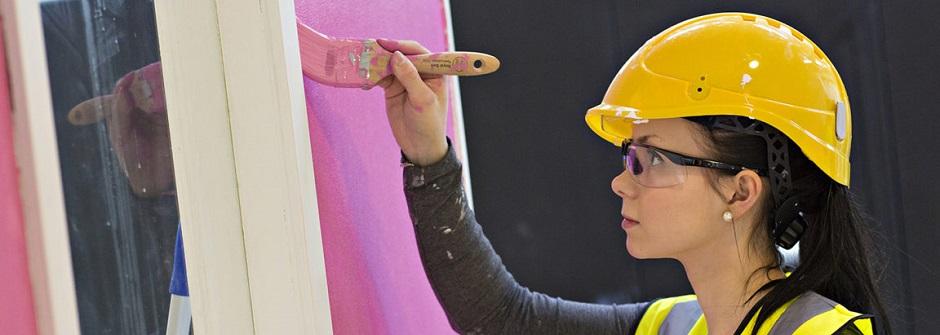 Pintakäsittelyalan ammattitutkinto | rakennusmaalauksen osaamisala