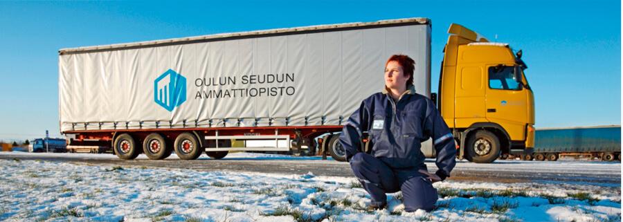 Kuljetusalan ammattitutkinto | tavarakuljetusten osaamisala