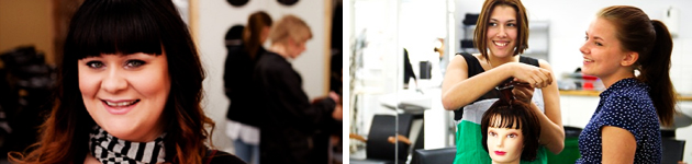 Frisör, barberare och hår- och makeupstylist
