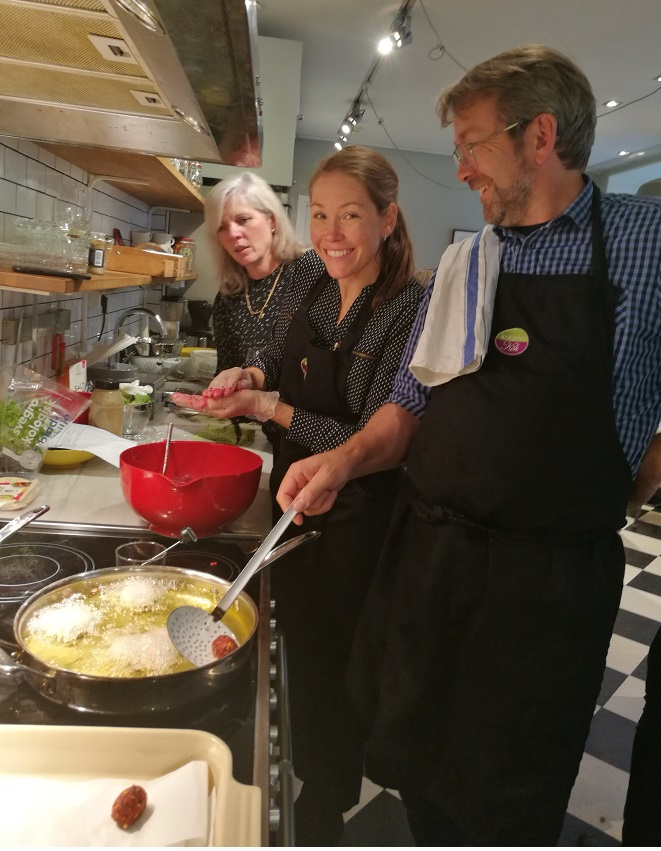 Matlagningsaktivitet Stockholm