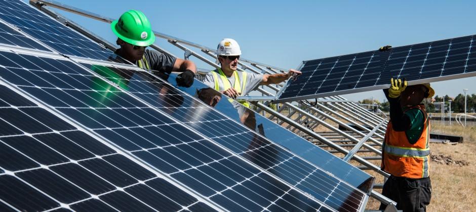 Yrkesutbildning till sollcellsmontör