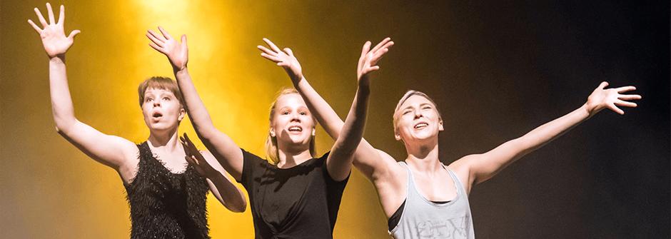teatterin ja tanssin opinnot