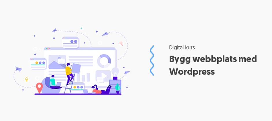 Bygga webbplats med Wordpress
