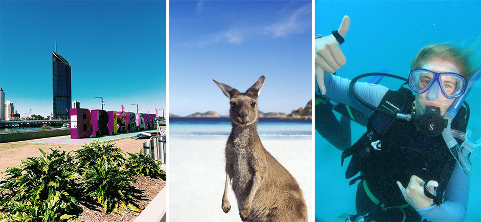 dykking i australia