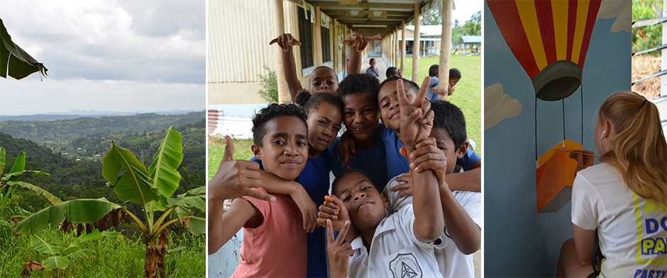 barn på fiji