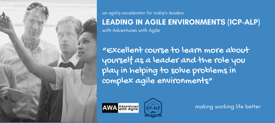 Leading in Agile Environments