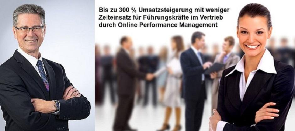 Performance-Management-Coaching für Vertriebsführungskräfte