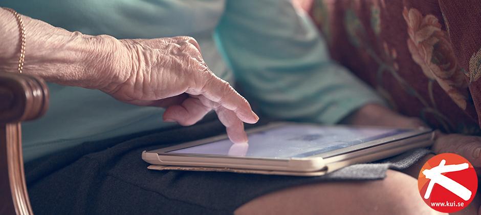Vård och omsorg blir allt mer digitaliserad och därmed ökar även behovet av kompetensutveckling i Välfärdsteknik