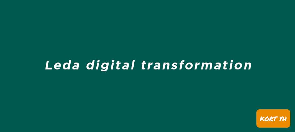Leda digital transformation, YH-utbildning hos Teknikhögskolan