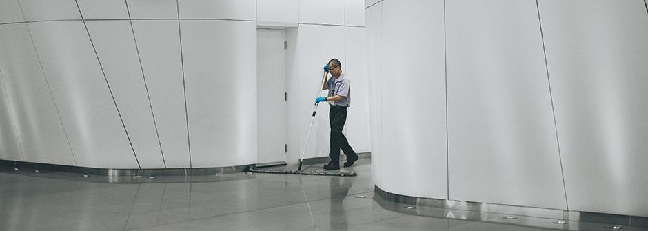 Toimitilahuoltaja (AT), puhtaus- ja kiinteistöpalvelualan ammattitutkinto