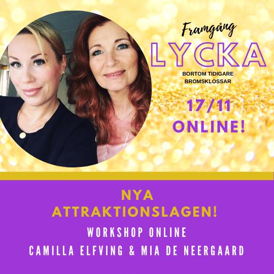 ATTRAKTIONSLAGEN Uppgradera dig till  2.0 Webinar! -Personlig utveckling  Online LIVE Mia de Neergaard & Camilla Elfving