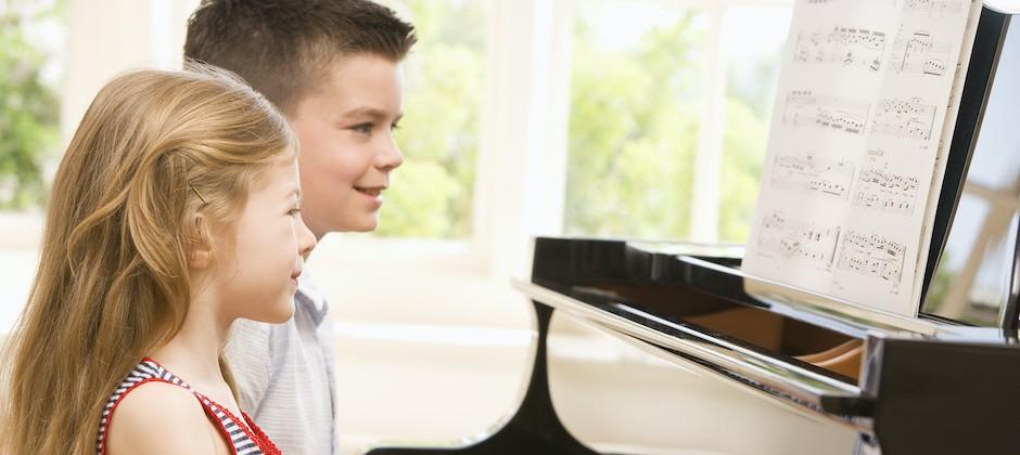 Pianokurs för barn från 4 år, Suzukimetoden