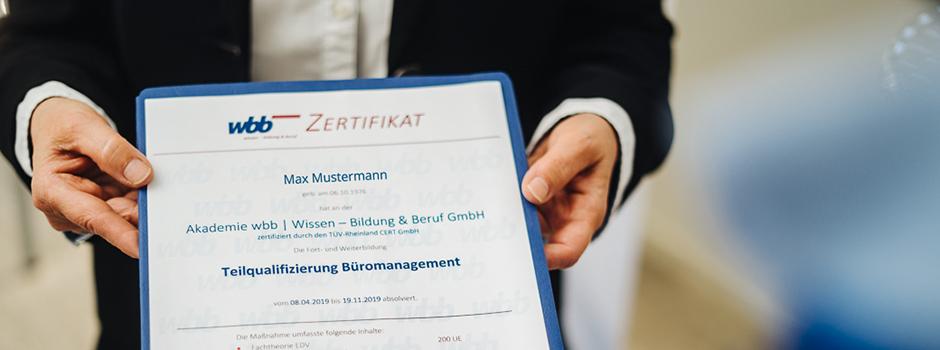 Teilqualifizierung Büromanagement