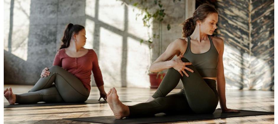Yoga, gong och nidra på lunchen - ONLINE eller PÅ PLATS