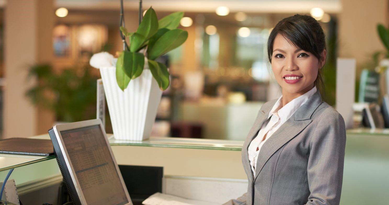 Certifierad Hotellreceptionist