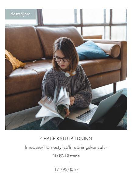 Certifikatutbildning - Inredning/Homestyling