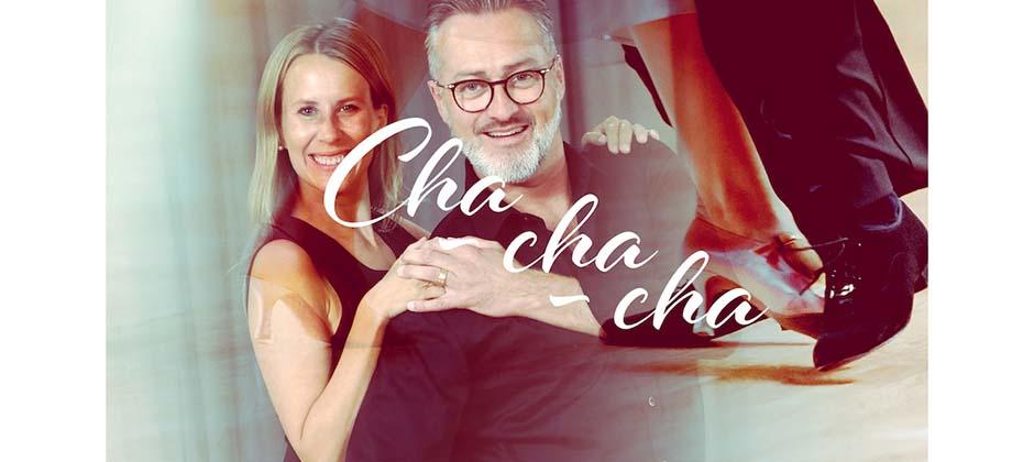 Cha-cha-cha med Tony Irving och Cecilia Ehrling
