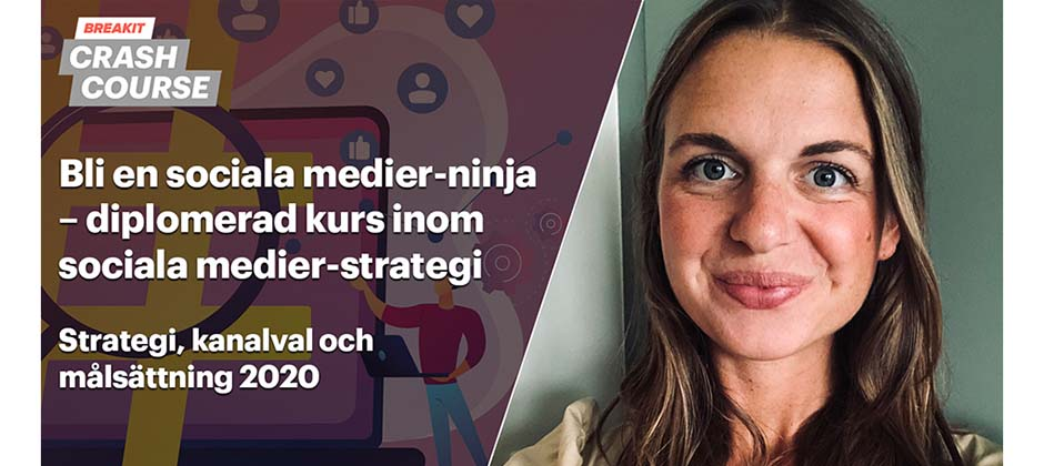 Diplomerad kurs inom sociala medier-strategi
