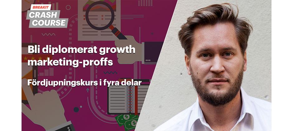 Diplomerad growth marketer efter fyra tillfällen – kurs i digital marknadsföring