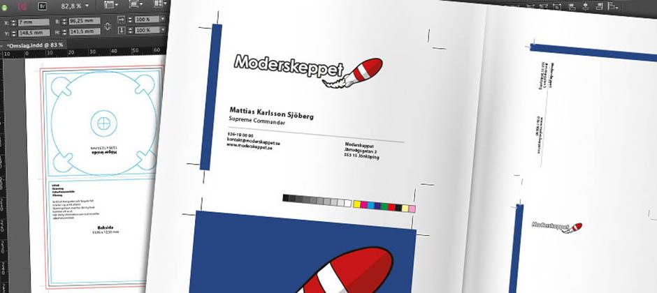Från idé till trycksak med InDesign