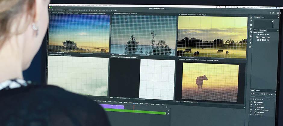 Bildbehandling i Adobe Photoshop