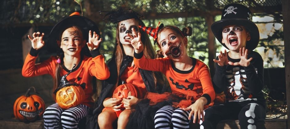 Homemade Halloween Costumes and Decorations