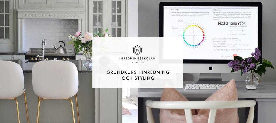 Grundkurs i inredning och styling - distans