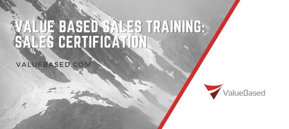 Value Based Sales Training Course: Sales Certification