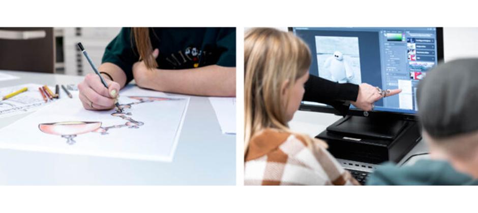 Estetiska programmet, Bild & formgivning