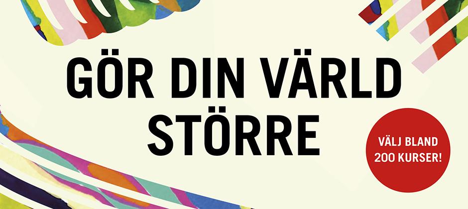 Hos ABF Göteborg kan du välja bland 200 kurser