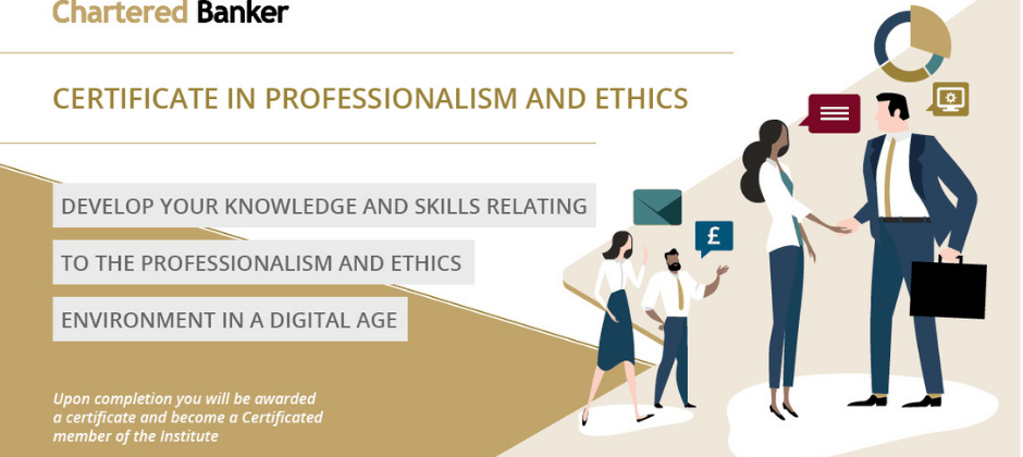 Certificate in Professionalism and Ethics image