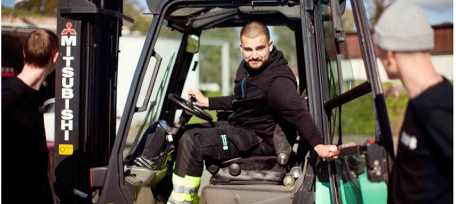 Fordons- och transportprogrammet, Lastbil & mobila maskiner
