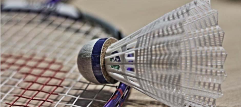 badminton på idrottsutbildningen