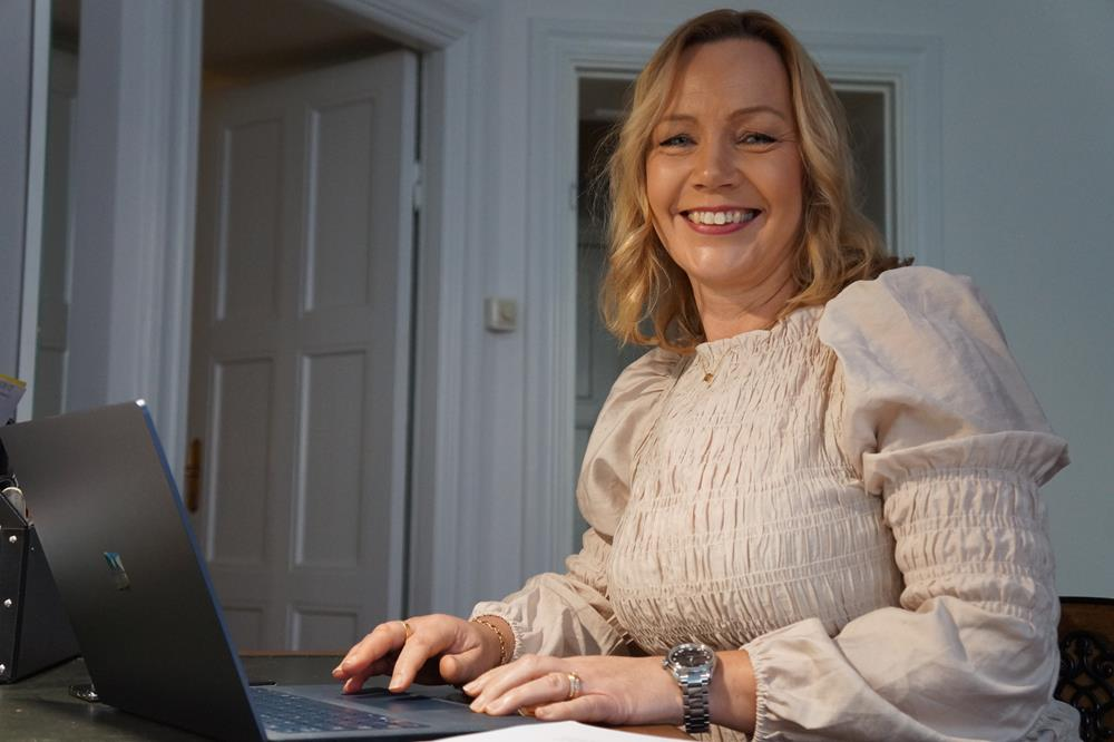 Kursledare Therese Bergh