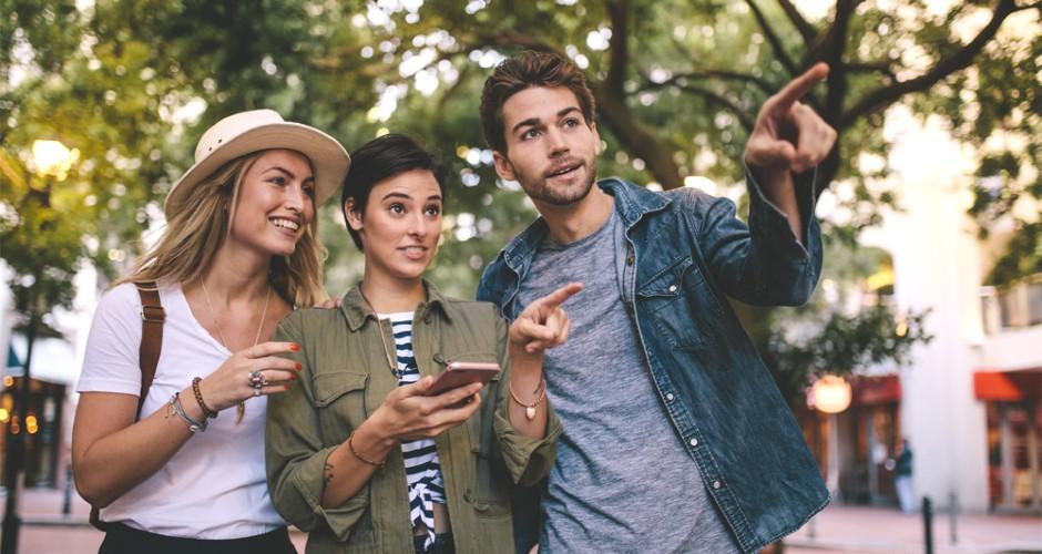 Mobilquiz – följ karta i mobilen och svara på kluriga frågor