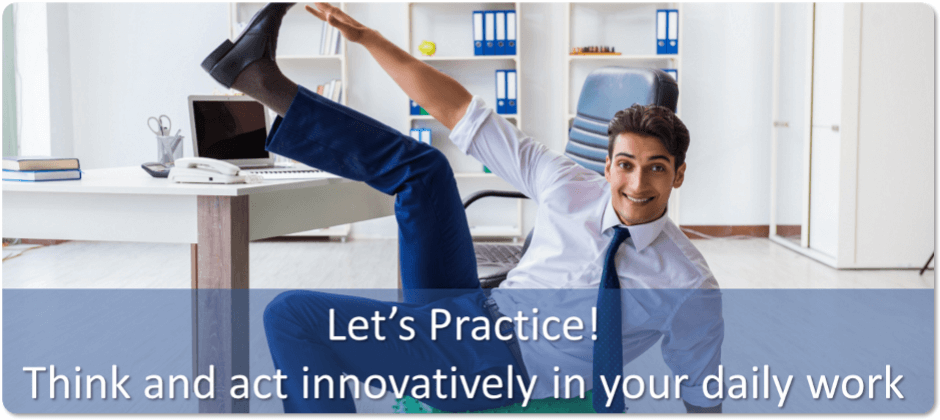 Let's Practice: Bethinkact™ Innovation Process (Prerequisite: Be Innovative E-learning or Workshop)