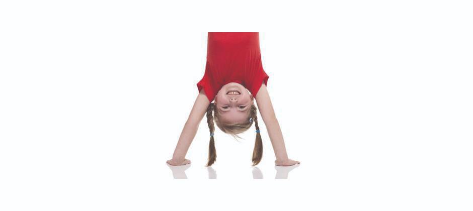 Gymnastik för barn, nybörjare